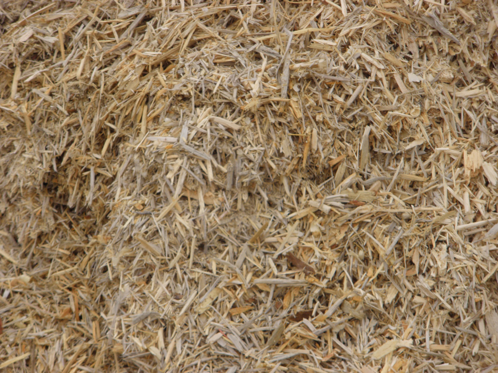 Wood chips western pines landscaping